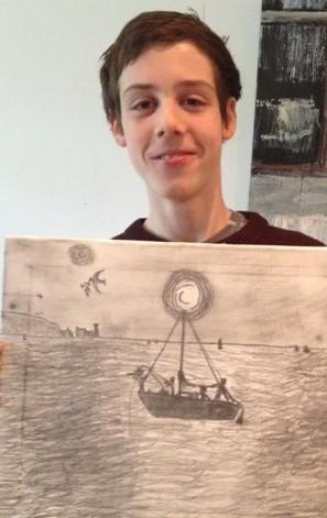 Jake van den bogarde boat pic 2012