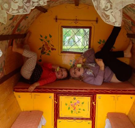 Kids in the Caravan